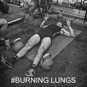 Burning Lungs